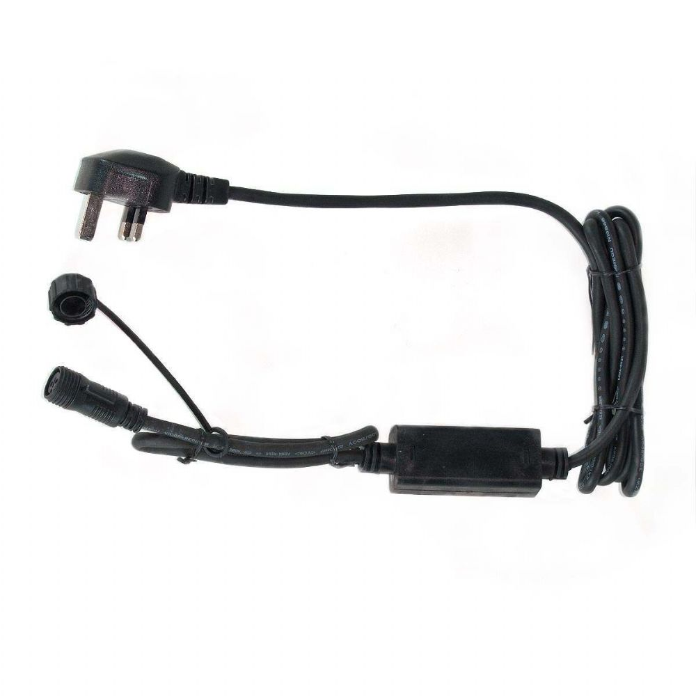 ConnectPro MV021 2m Black Starter Cable - Powers up to 7600 LEDs